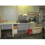 "Stor-Loc Work Bench w/ 4-Drawer Heavy Duty 10' x 30"" x 35"" Cabinet"
