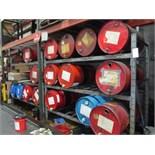 "Heavy Duty Barrel Rack, 8' x 35"" x 7'"