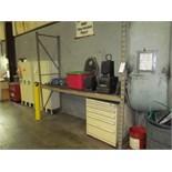 (Lot) Stor-Loc Cabinet w/ 5-Drawers & Rack