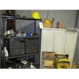 (Lot) Lockers w/ Shelf