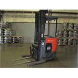 2005 Toyota mod. 7B2018, 3500lb. Stand-Up Type Electric Forklift, 18' High w/ 36 Volt Charger; S/N