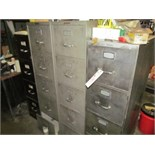 (Lot) File Cabinet, 5-Pcs
