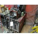 Lincoln mod. CV-400, 400 Amp Welder w/ Wire Feeder, 2-Phase