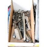 Box of hex keys