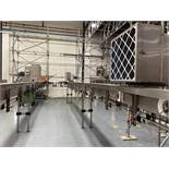 Air conveyor with 10 Fan Units