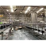 Krones Synco Acrylic Slat Bed Conveyor with Reject Holding Area