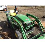 2009 2305 John Deere MFWD HST Tractor 713 Hrs, Loader 200CX w/ 48in Bucket, SN LV2305H423384