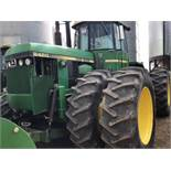 1983 8450 John Deere 4wd Tractor 6771 Hrs, 225hp, Quad range, 1000 PTO, 4 hyd outlets, 6 cyl, 20.8-