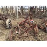 Antique 4-Bottom Plow
