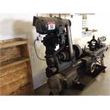 """60"""" Lathe The Hendly Machine 4 Speed, with extra 4-Chuck head, assortment of bits and attachments"""