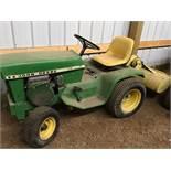 112 John Deere Mower & Tiller Tractor