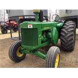 80 John Deere Antique Tractor 2wd, 2cyl diesel, Stn Trans, 540PTO, 2hyd outlets, 60hp, 23.1-26rr,