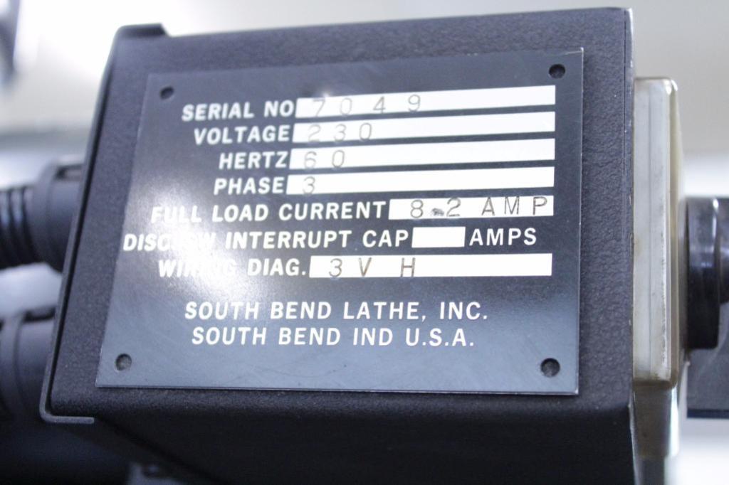 Lot 1 - South Bend 3VH Vertical Milling Machine (missing Parts)