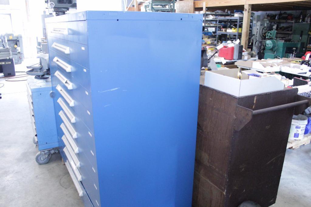 Lot 4 - Large 11 drawer tooling cabinet