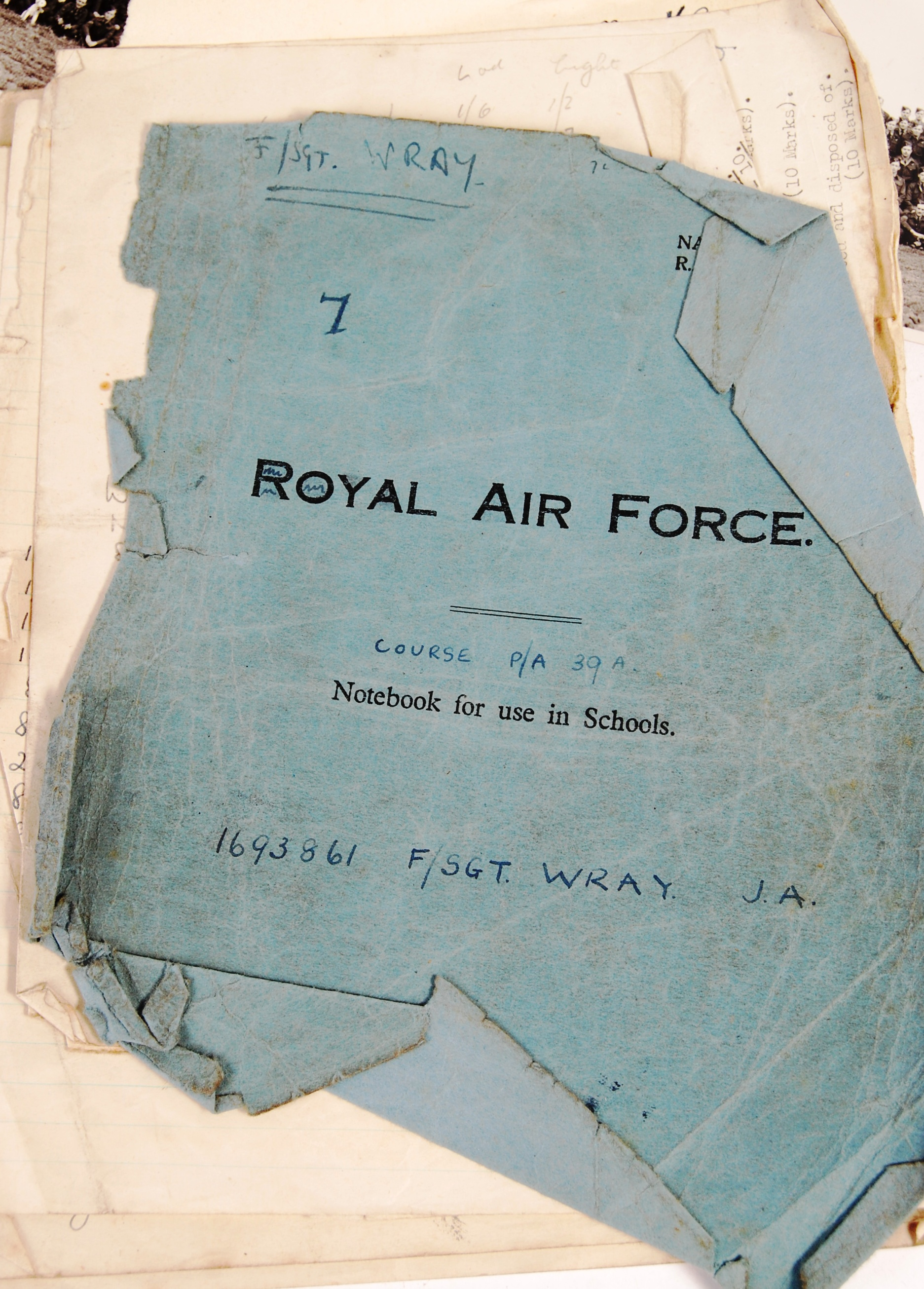 RARE UNIQUE ARCHIVE OF WWII RAF BOMBER COMMAND ITE - Image 21 of 32