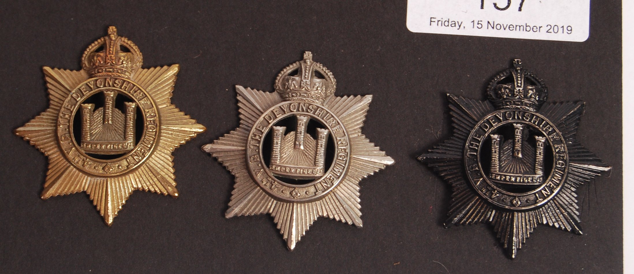 COLLECTION OF TERRITORIAL FORCES BRITISH UNIFORM C - Image 5 of 6