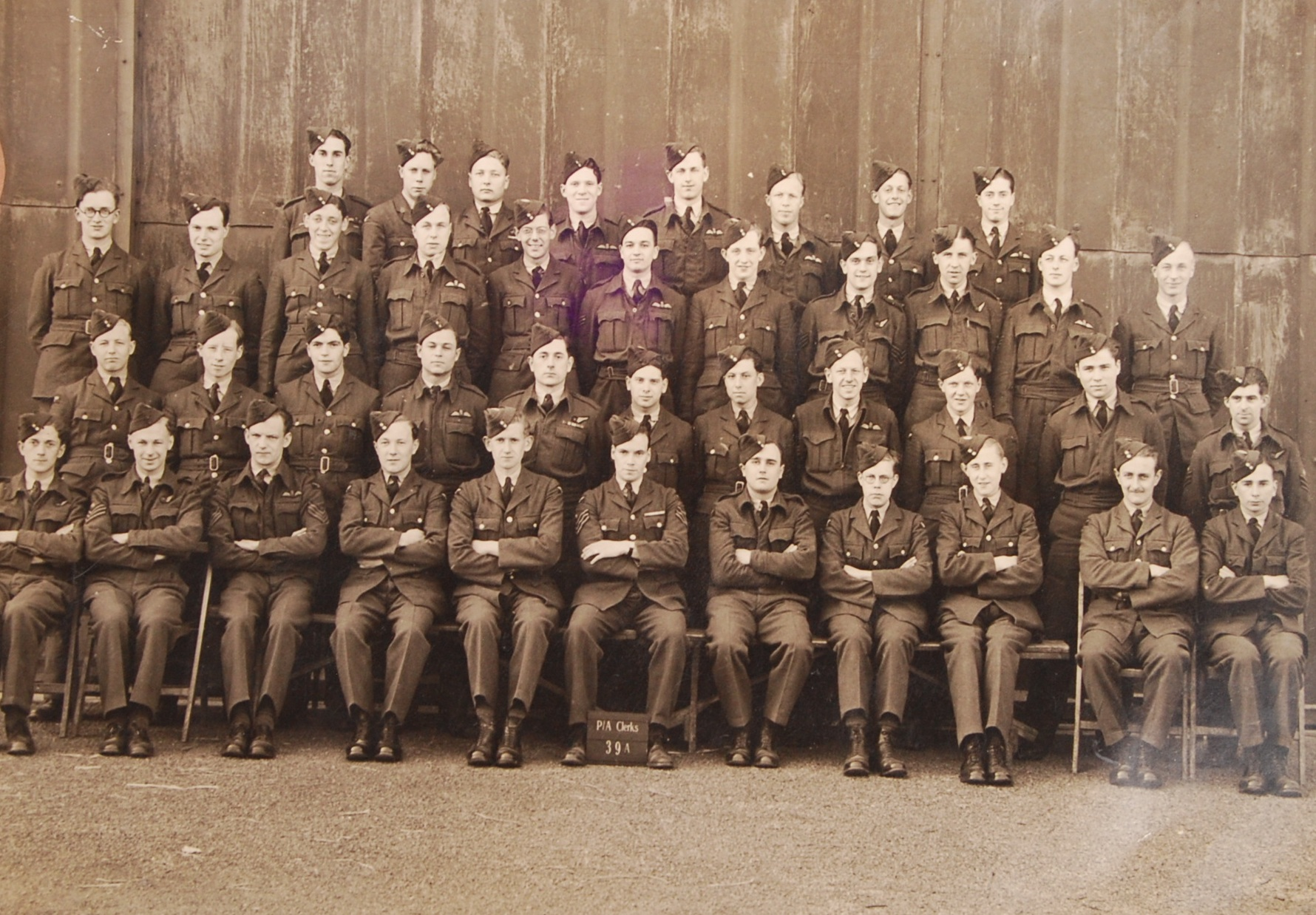 RARE UNIQUE ARCHIVE OF WWII RAF BOMBER COMMAND ITE - Image 6 of 32