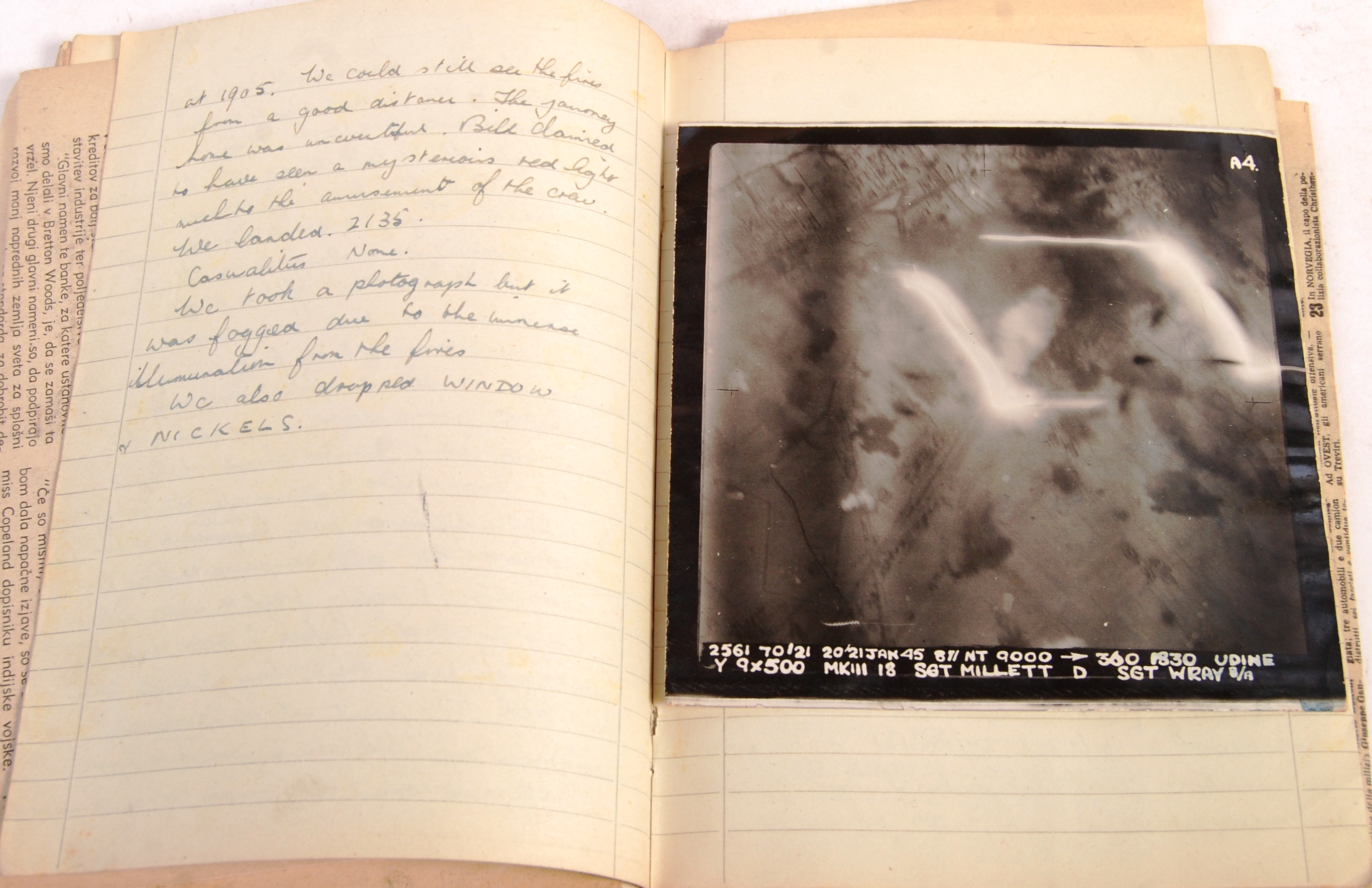 RARE UNIQUE ARCHIVE OF WWII RAF BOMBER COMMAND ITE - Image 15 of 32
