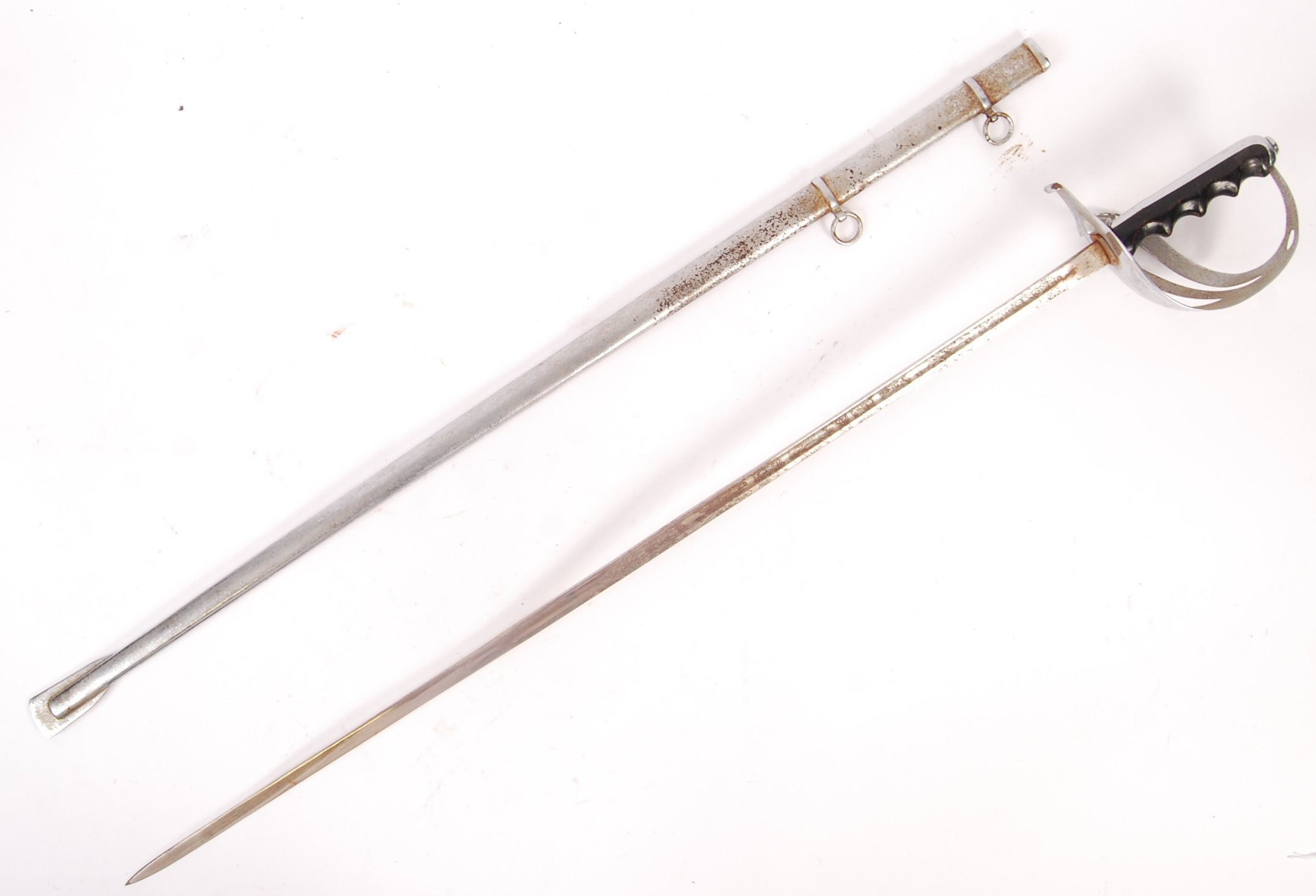 ITALIAN 1888 PATTERN CAVALRY OFFICERS SWORD AND SC