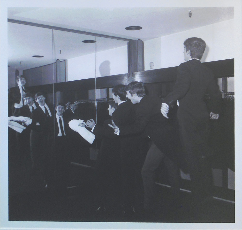 Beatles In Djs At Austin Reed Department Store August 1963 By Tony Gale 59 5cm X 59 5cm Framed