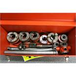 """RIDGID PIPE THREADER (1/2"""", 3/8"""", 3/4"""", 1"""", 1.25"""", 1.5"""") AND PIPE CUTTER"""