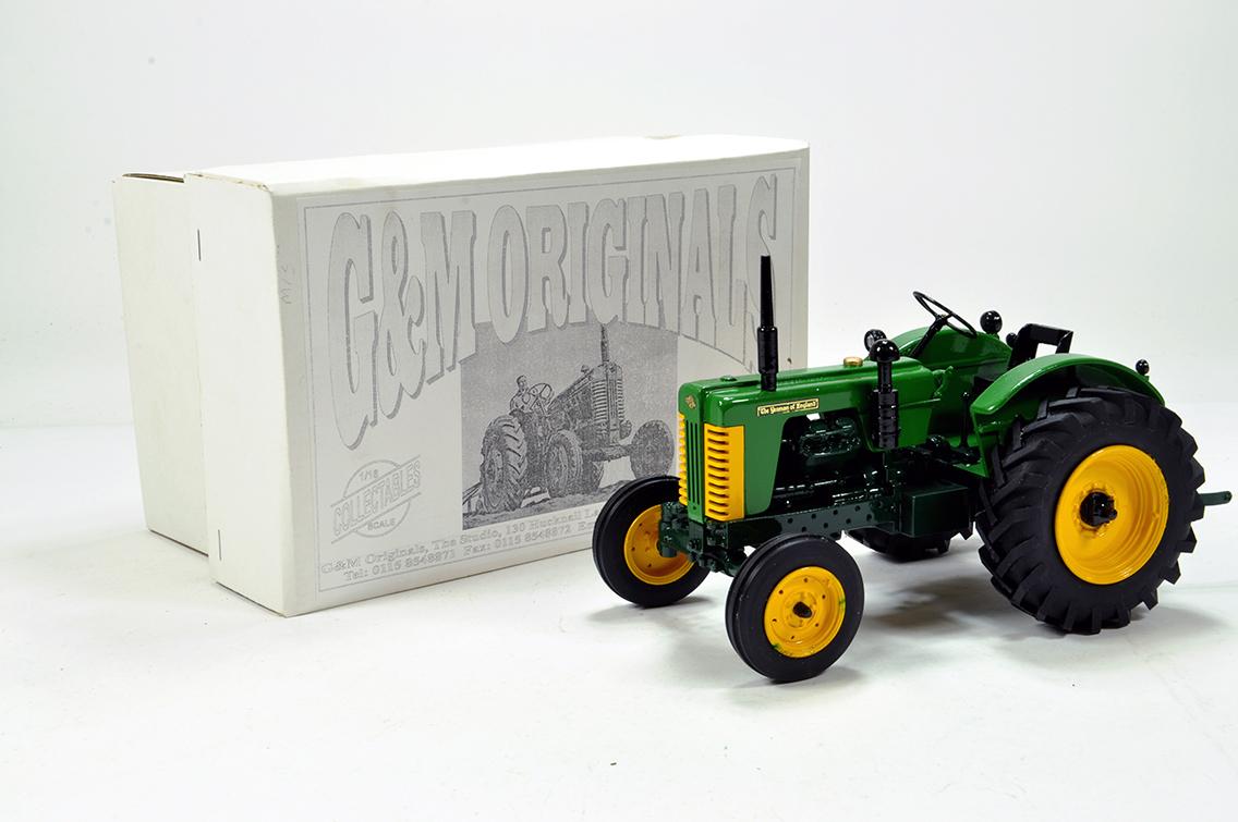 Lot 642 - G&M Originals 1/16 Farm Issue comprising Turner Yeoman of England Tractor. Special Handbuilt