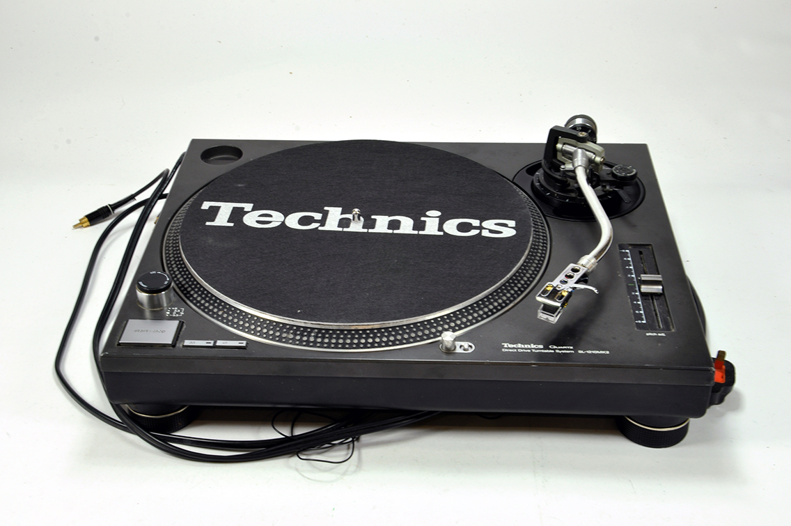 Lot 1291 - A Technics SL 1210 II Turntable. Excellent and Working.
