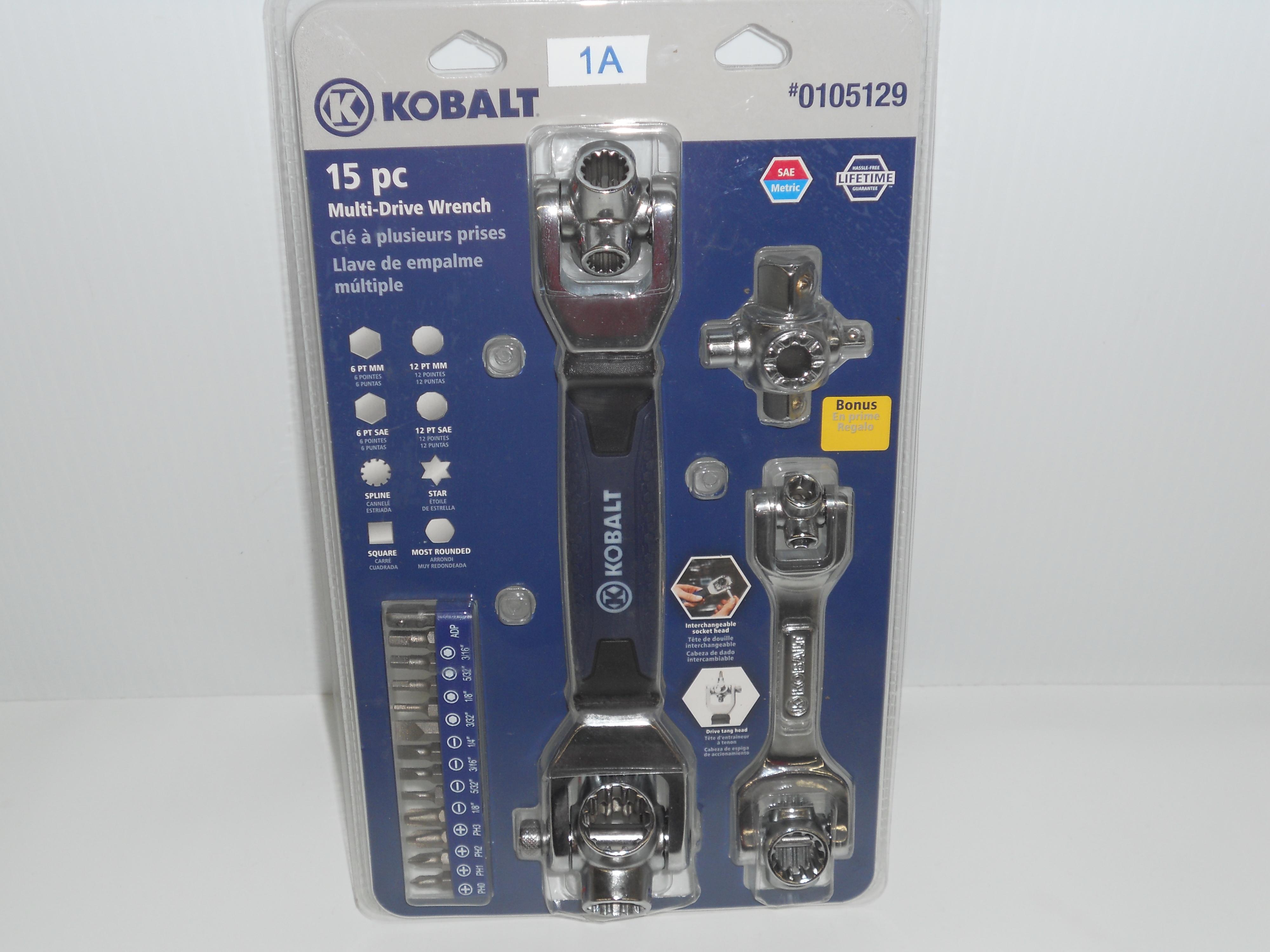 Kobalt 15 piece Multi Drive Wrench