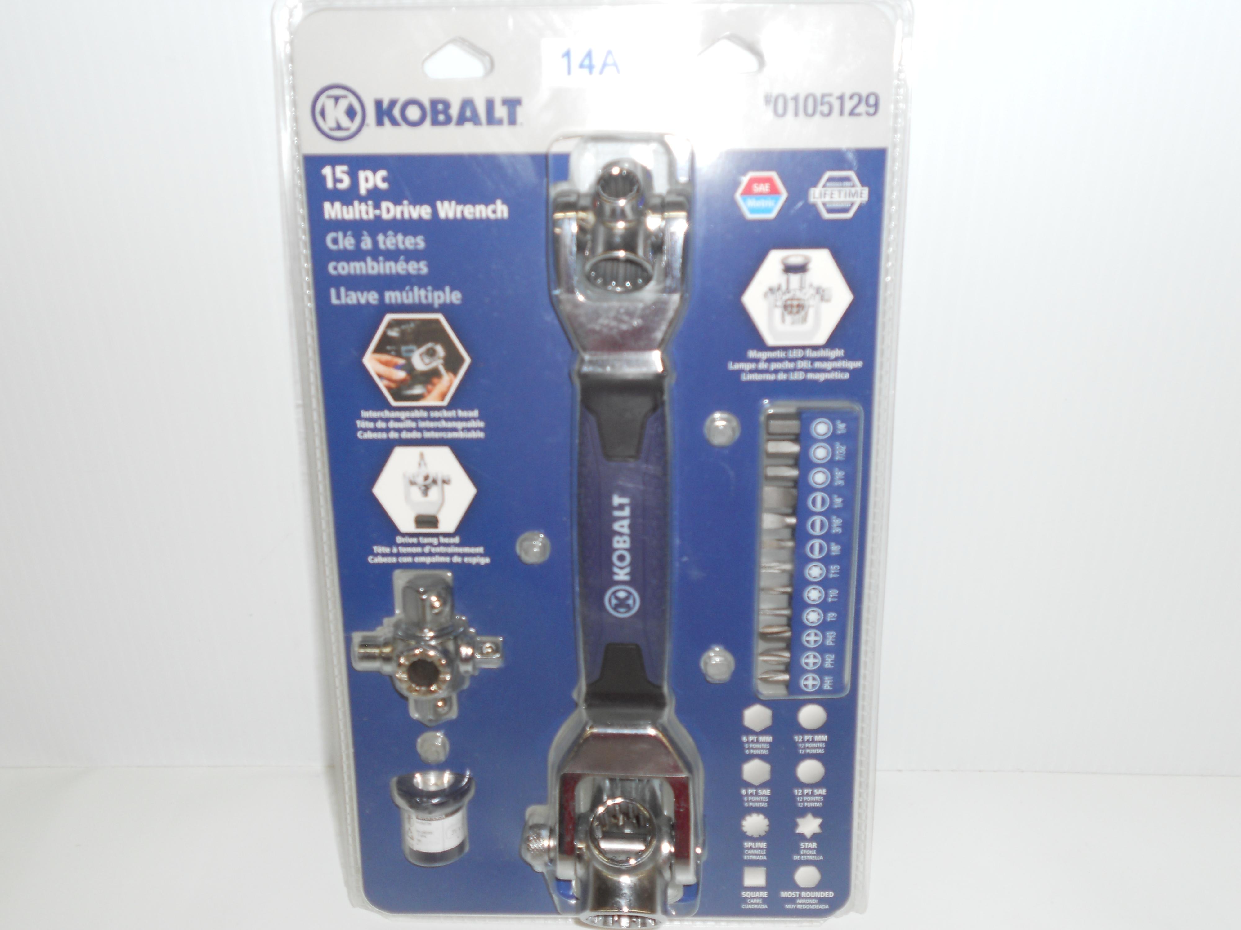Kobalt 15-piece Multi-Wrench