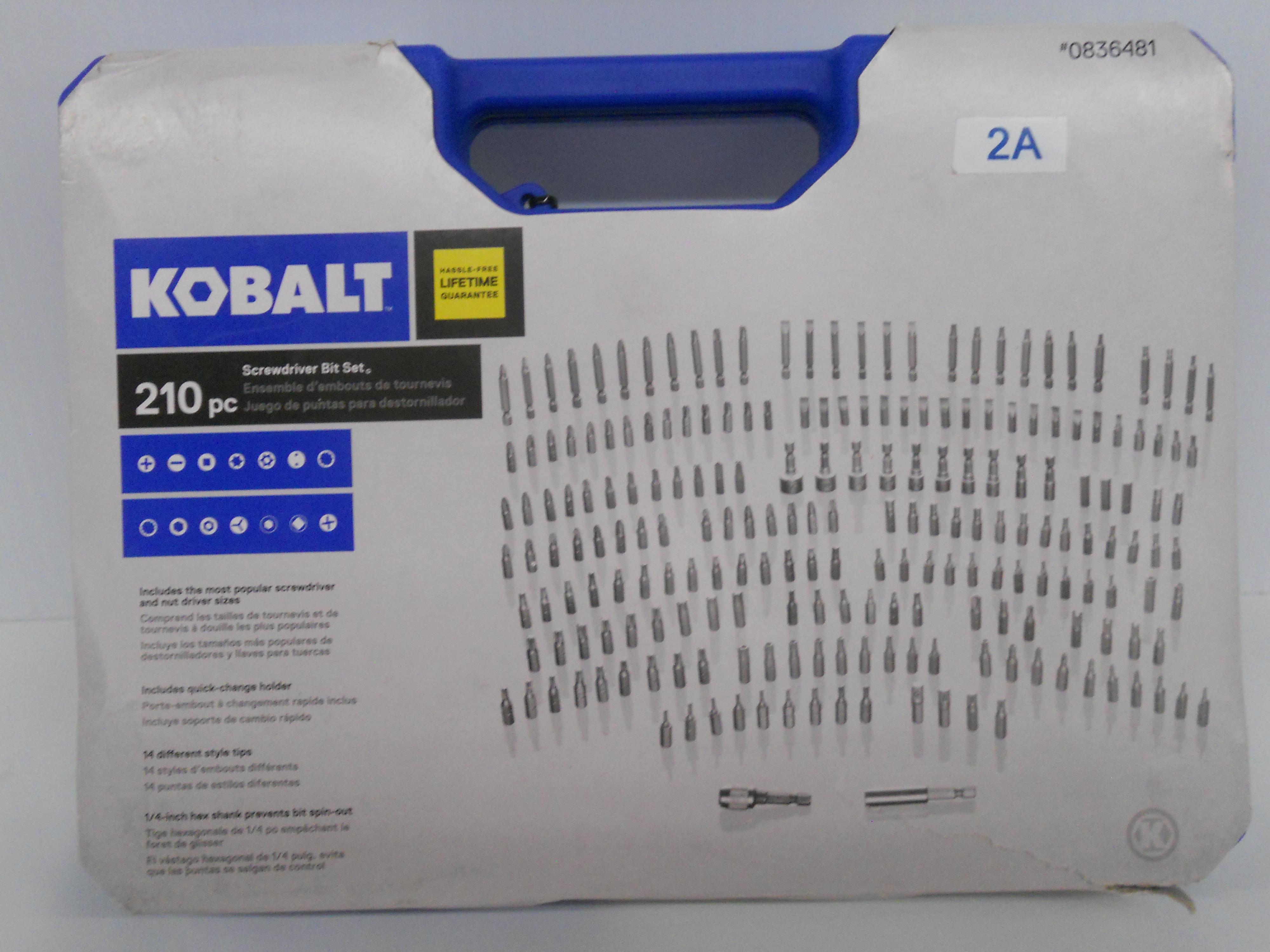 Kobalt 210-piece Screwdriver Bit Set