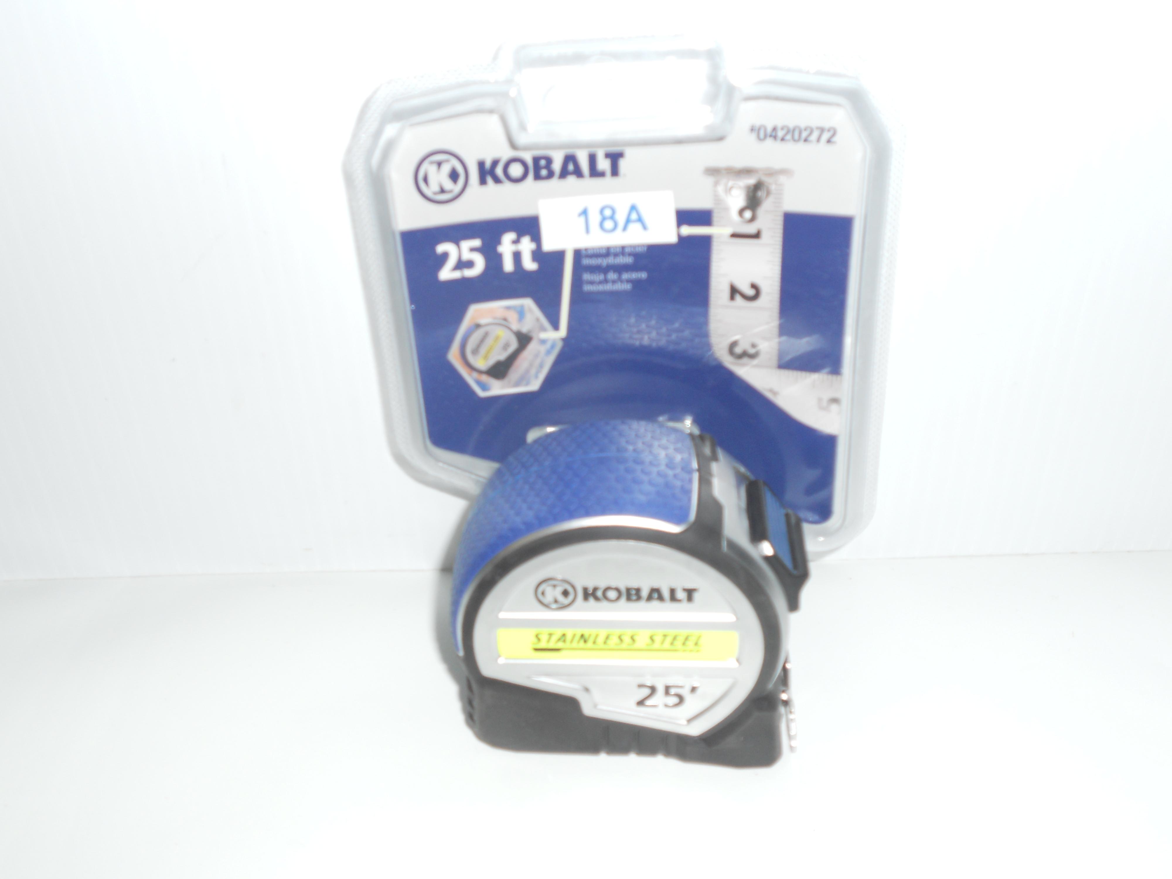 Kobalt 25 foot Stainless steel tape measure