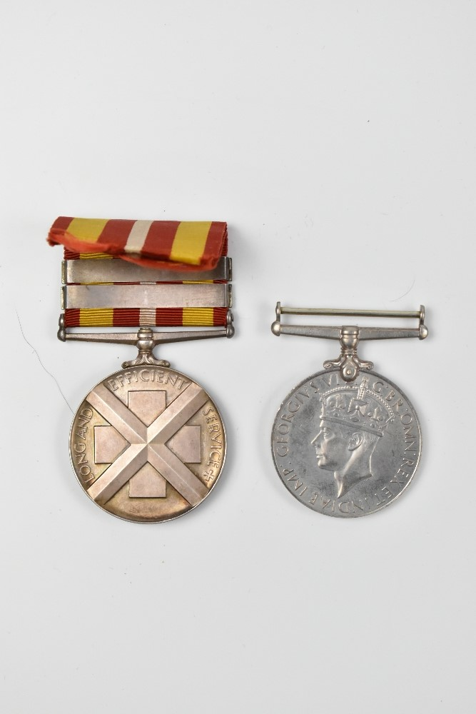 A WWII Air Crew Europe Star medal group awarded to Sergeant (Navigator) Andrew Steel Carscadden, - Image 3 of 11