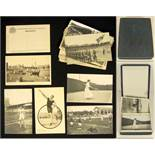 Olympic Games 1912 Collection of 19 Postcards+Box - differnt b/w postcards from the games in