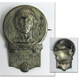 """Participation badge: Olympic Games 1912. - """"Olympiska Spelen Stockholm 1912"""" presented to"""