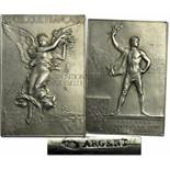 Olympic Games 1900. Winner´s Medal Silver - Silver winner medal from the Olympic Games in Paris