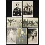 Olympic Games 1908. 2 Postcards London - Seven black-and-white photo postcards from the Olympic