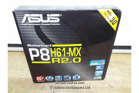 ASUS P8H6-MX R2 0 (MISSING PARTS) / GRADE: RETAIL / BOXED