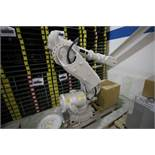 (NEW) ABB ROBOT IRB 6640 2.8/185 WITH IRC5 CONTROLS, YEAR 2015, 107535, TEACH PENDANT & CABLES