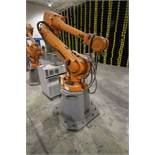 ABB ROBOT IRB 4600 2.55/40KG WITH IRC5 CONTROLS, YEAR 2014, SN 500868 TEACH PENDANT& CABLES