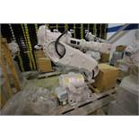 (NEW) ABB ROBOT IRB 6640 2.8/185 WITH IRC5 CONTROLS, YEAR 2015, 107534, TEACH PENDANT & CABLES