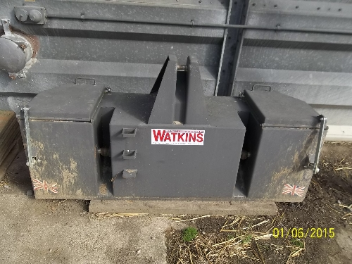 Tractor Front End Weights : Philip watkins front end tractor weight box