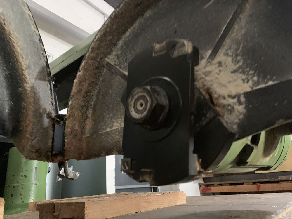 Multico Model C2/3 Radial Wood Saw. Serial No. 708. - Image 6 of 7
