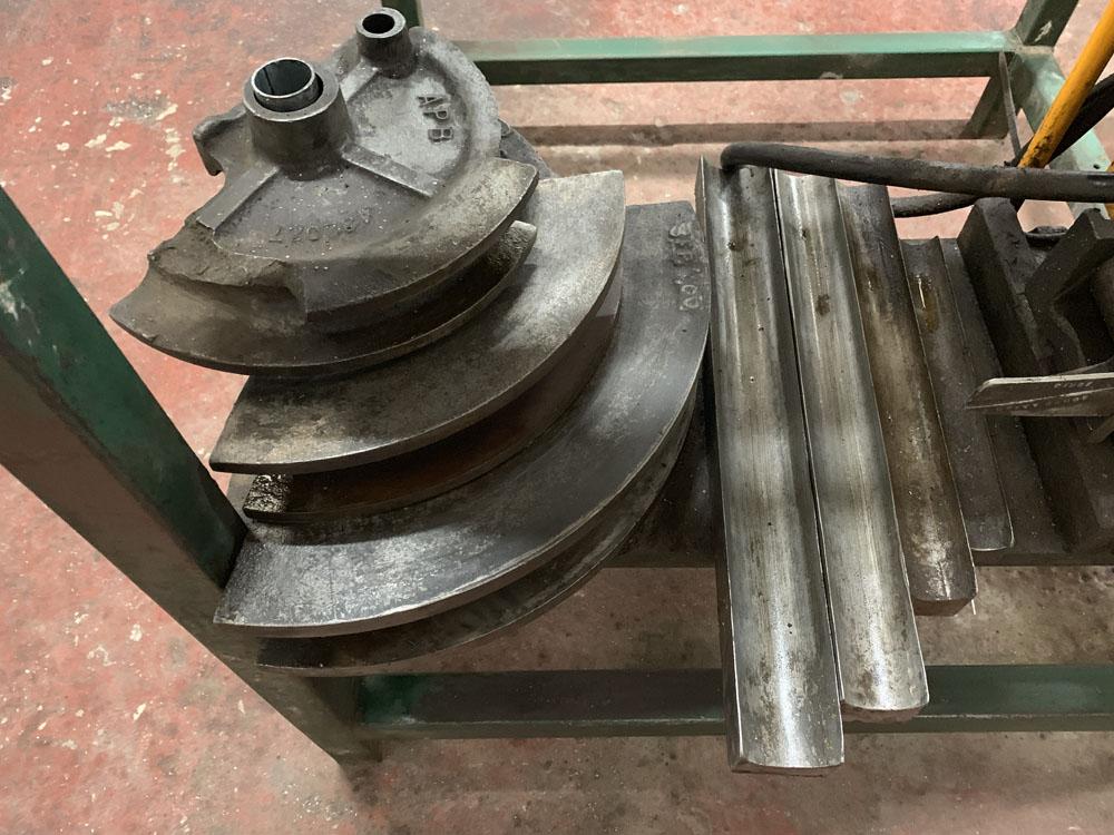 APB (Anglia Power Bend Limited) Model RH3 Hydraulic tube bending machine. Capacity 60mm. - Image 4 of 5
