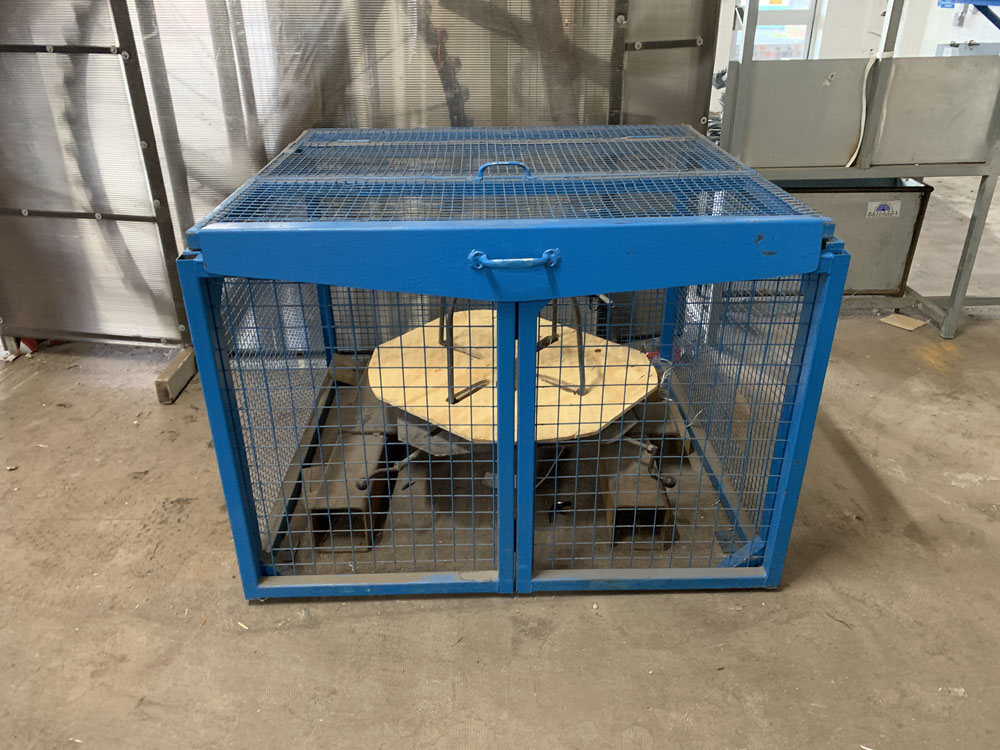 Lot 16 - Bespoke Wire Crimping Machine with Feeder. Specifically Built for the Production of Zig Zag Wire.