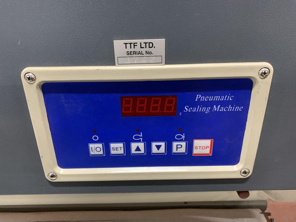 TTF Ltd Model FMQP Pneumatic Sealing Machine. Single Phase. Year 2013. - Image 3 of 5