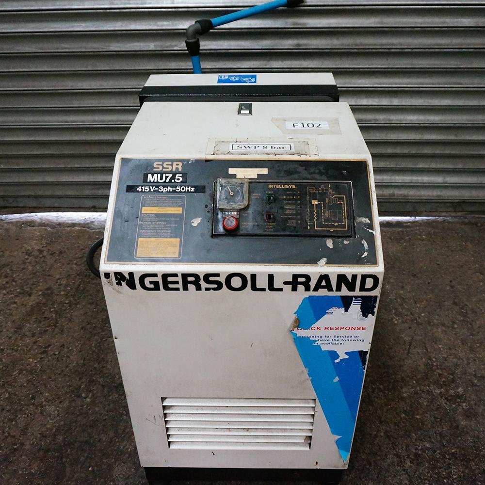 Ingersoll Rand Model SSR MV7.5 Air Compressor - Image 3 of 3