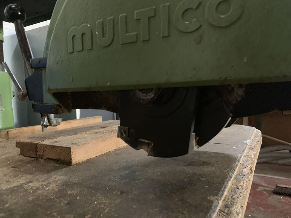 Multico Model C2/3 Radial Wood Saw. Serial No. 708. - Image 7 of 7