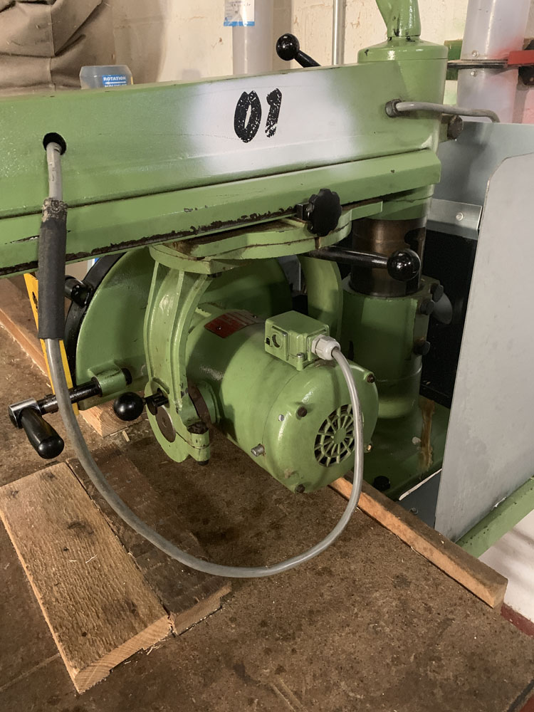 Multico Model C2/3 Radial Wood Saw. Serial No. 708. - Image 2 of 7