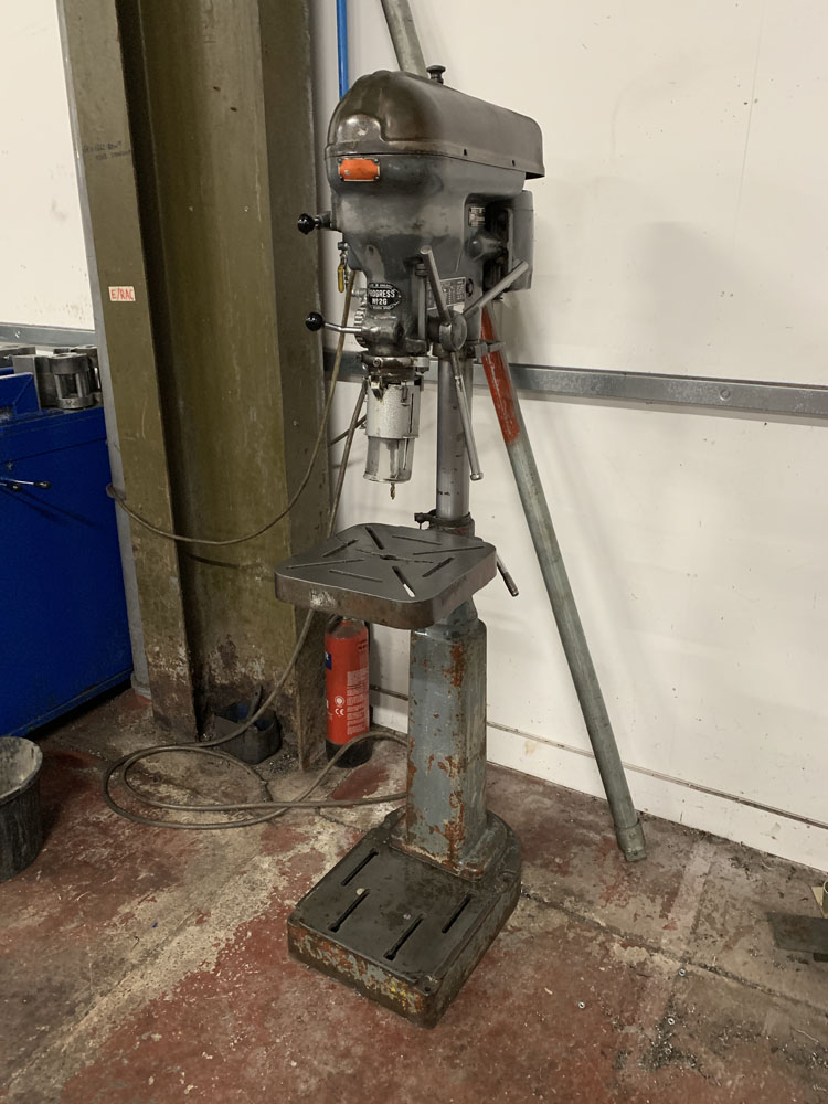 Progress No. 2G Pedestal Drill.