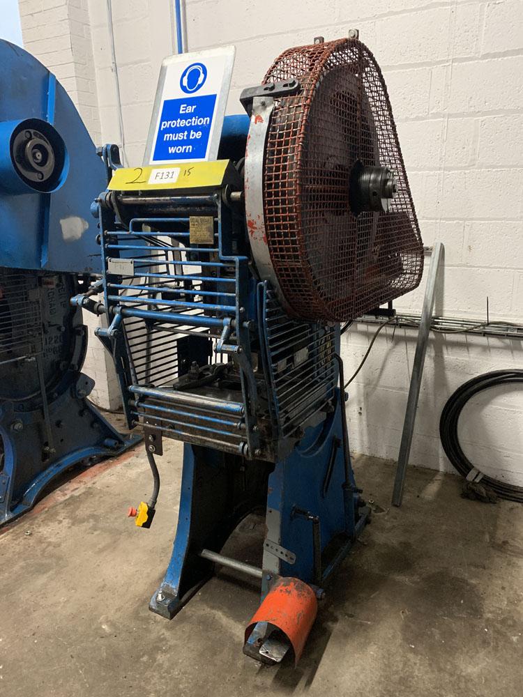 HME LM12 Power Press. 12 Ton Capacity. - Image 2 of 4